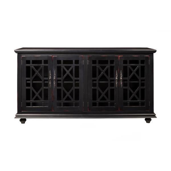 Martin Svensson Home Cassandra Black Home Entertainment Center 91002