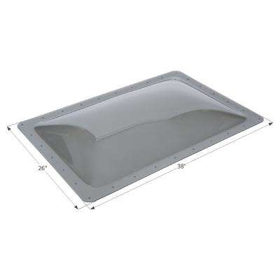 Standard RV 28 in. x 10 in. x 4 in. Skylight