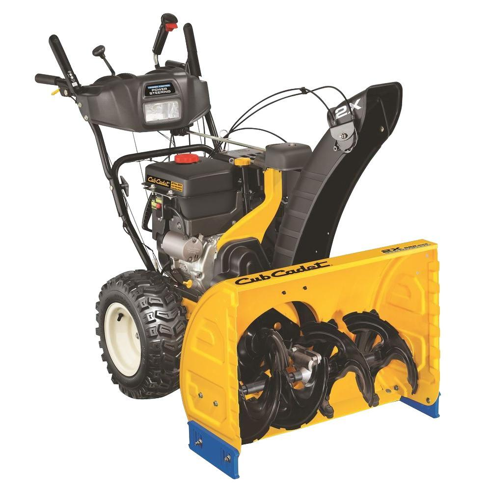 Cub Cadet 2X 528 SWE 28 in. 277 cc Two-Stage Electric Start Gas Snow Blower with Power Steering