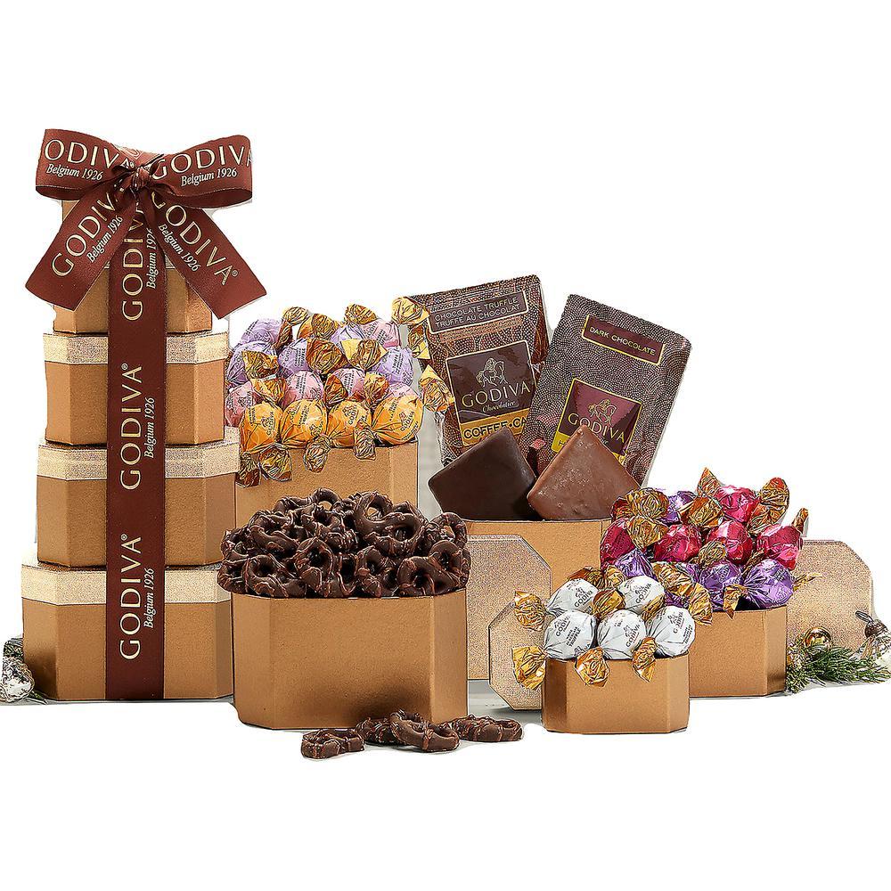Wine Country Gift Baskets Godiva Chocolate Gift Tower