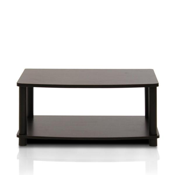 Furinno Turn-N-Tube Espresso Elevated TV Stand 13191EX/BK