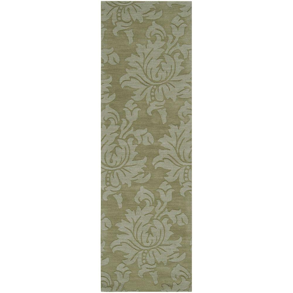 Beth Jalepeno Green 2 ft. 6 in. x 8 ft. Rug