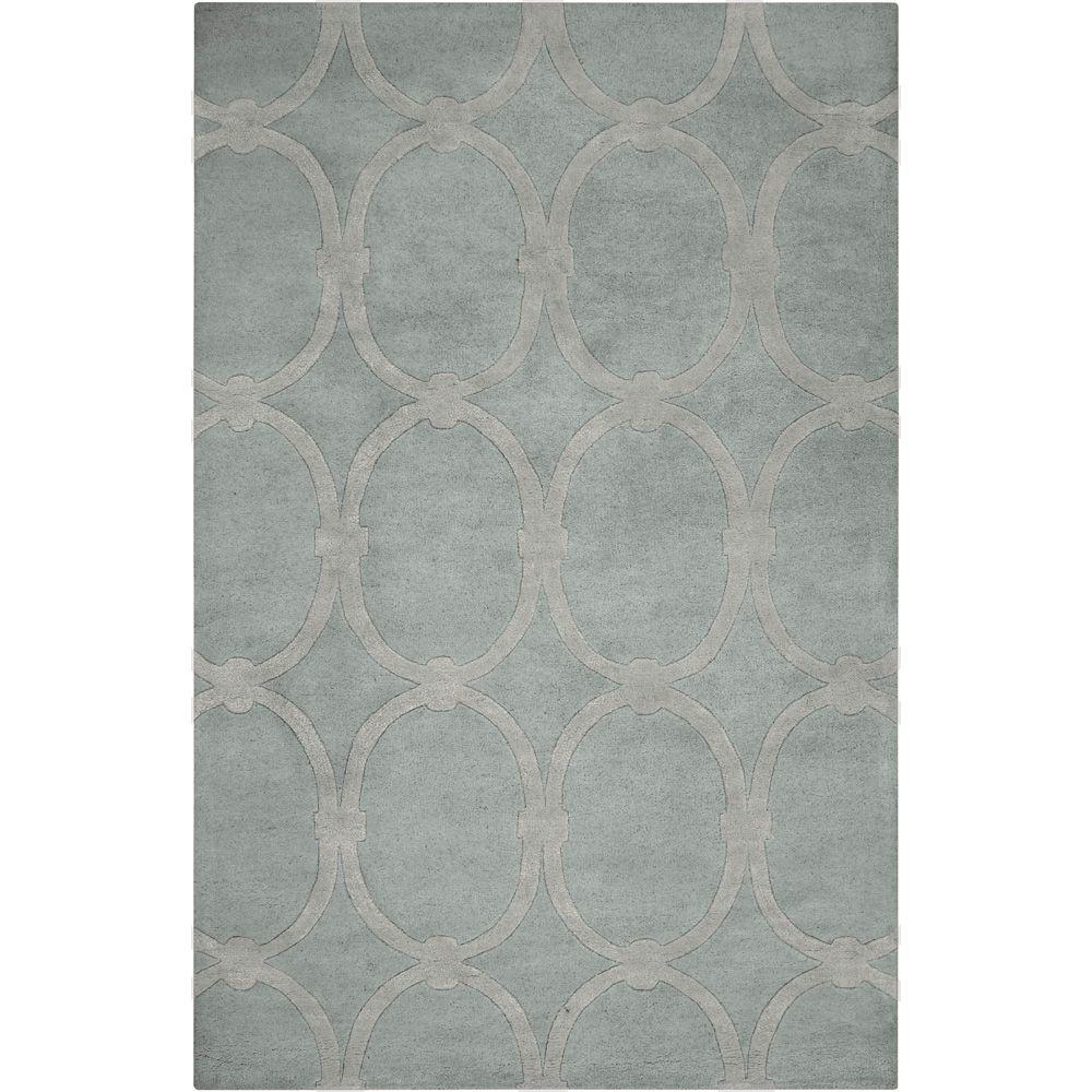 Surya Candice Olson Dove Gray 5 ft. x 8 ft. Area Rug