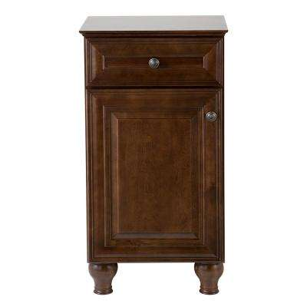 Templin 19 in. W x 35 in. H x 16 in. D Bath Vanity Cabinet in Coffee