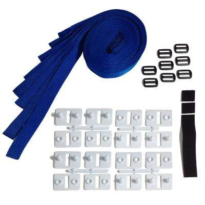Universal Strap Kit for In-Ground Solar Reel System