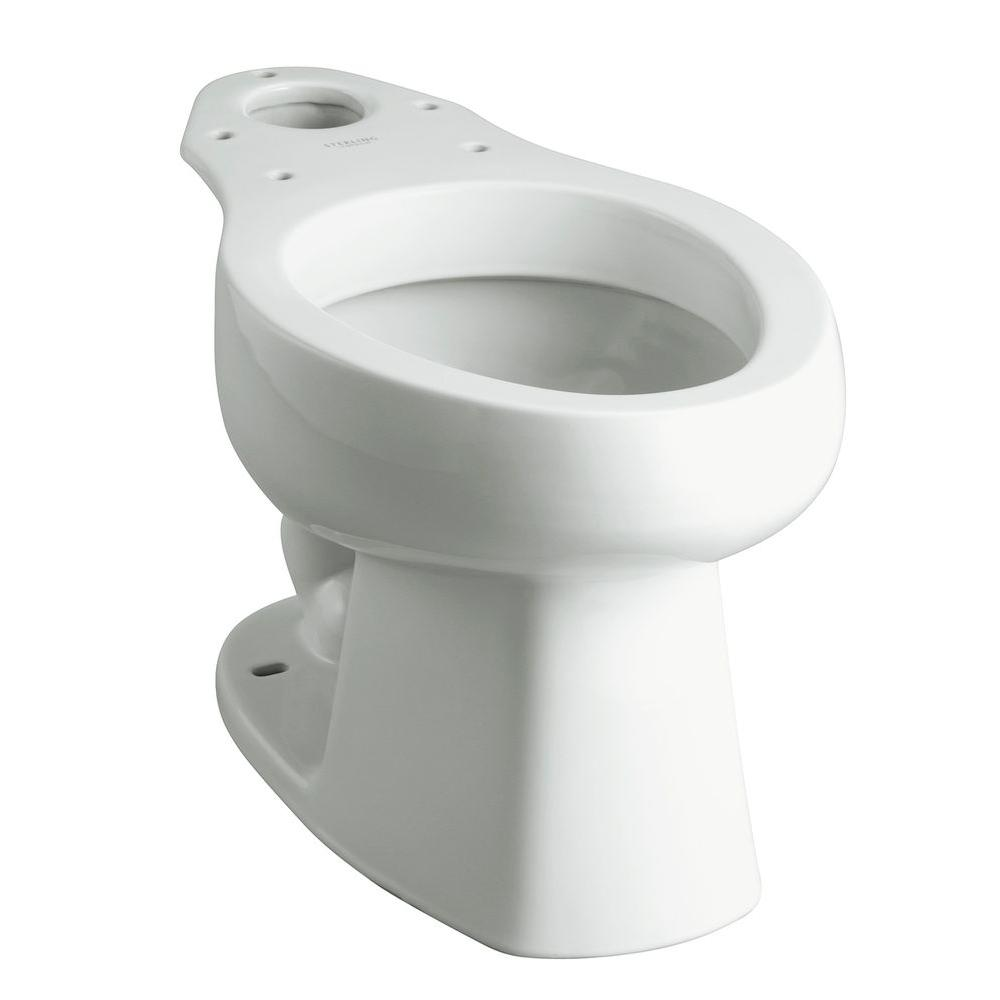 Sterling Windham Elongated Toilet Bowl Only In White