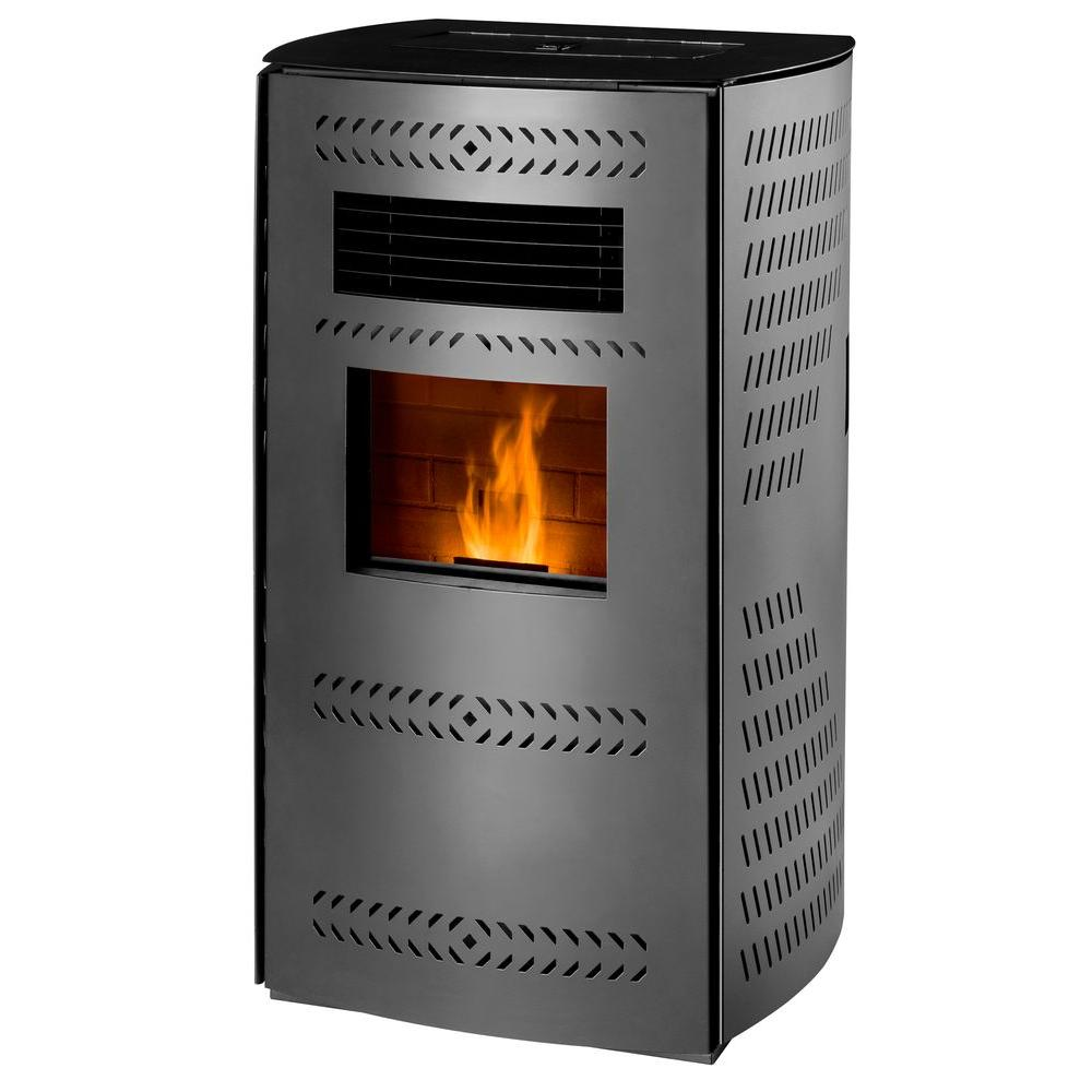 Imperial 2,200 sq. ft. Pellet Stove with Rounded Panels
