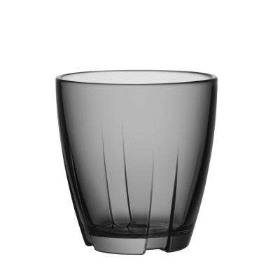 Bruk 6.6 oz. Small Tumbler in Smoke Grey (Set of 8)