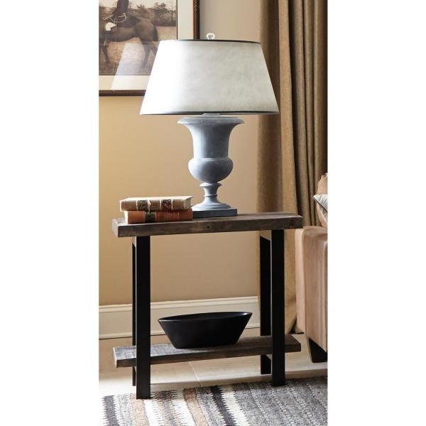 Alaterre Furniture Pomona Rustic Natural End Table AMBA0120