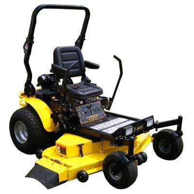 62 in. 31 HP Kawasaki FX850V V-Twin Gas Engine, Hydrostatic Zero Turn Commercial Mower with Free Rollbar and Headlights