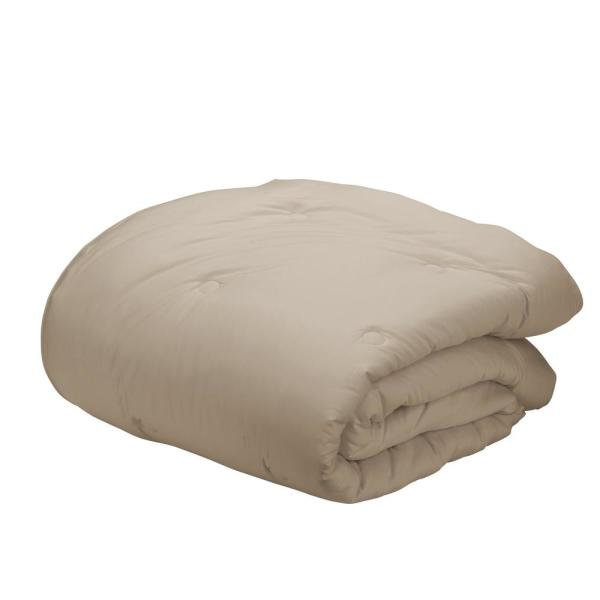 The Company Store Sand Bamboo Cotton King Comforter C2Y7-K-SAND