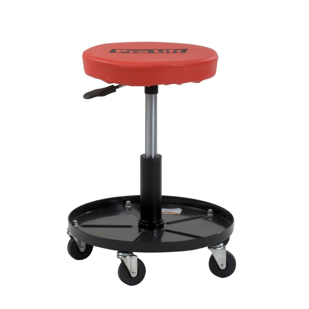 Merveilleux 300 Lb Rolling Mechanics Creeper Seat Shop Garage Work Stool Chair Storage  New
