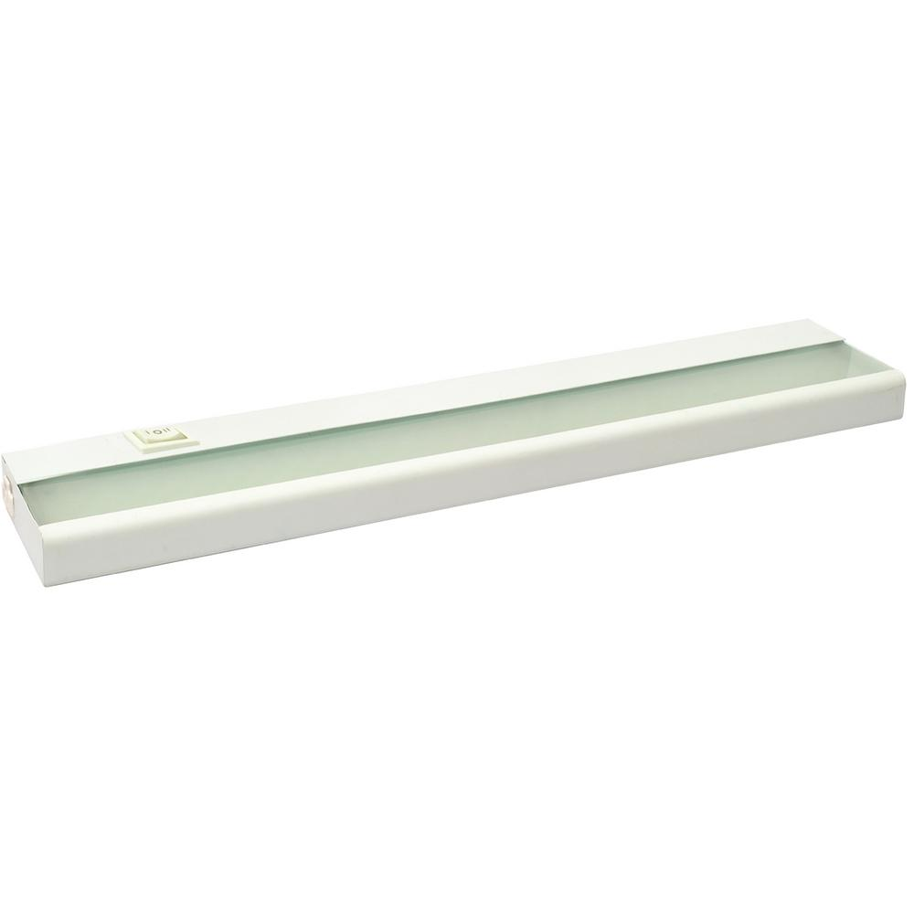21 In White Led Under Cabinet Lighting Fixture