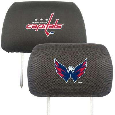 NHL - Washington Capitals Embroidered Head Rest Covers (2-Pack)