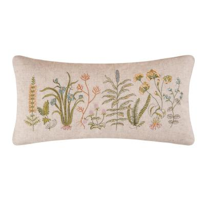12 in. x 24 in. Anessa Embroidered Pillow