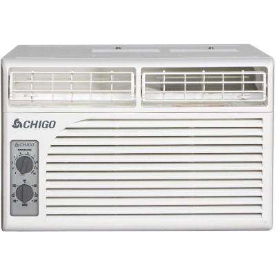 5,400 BTU Window Air Conditioner with Mechanical Controls