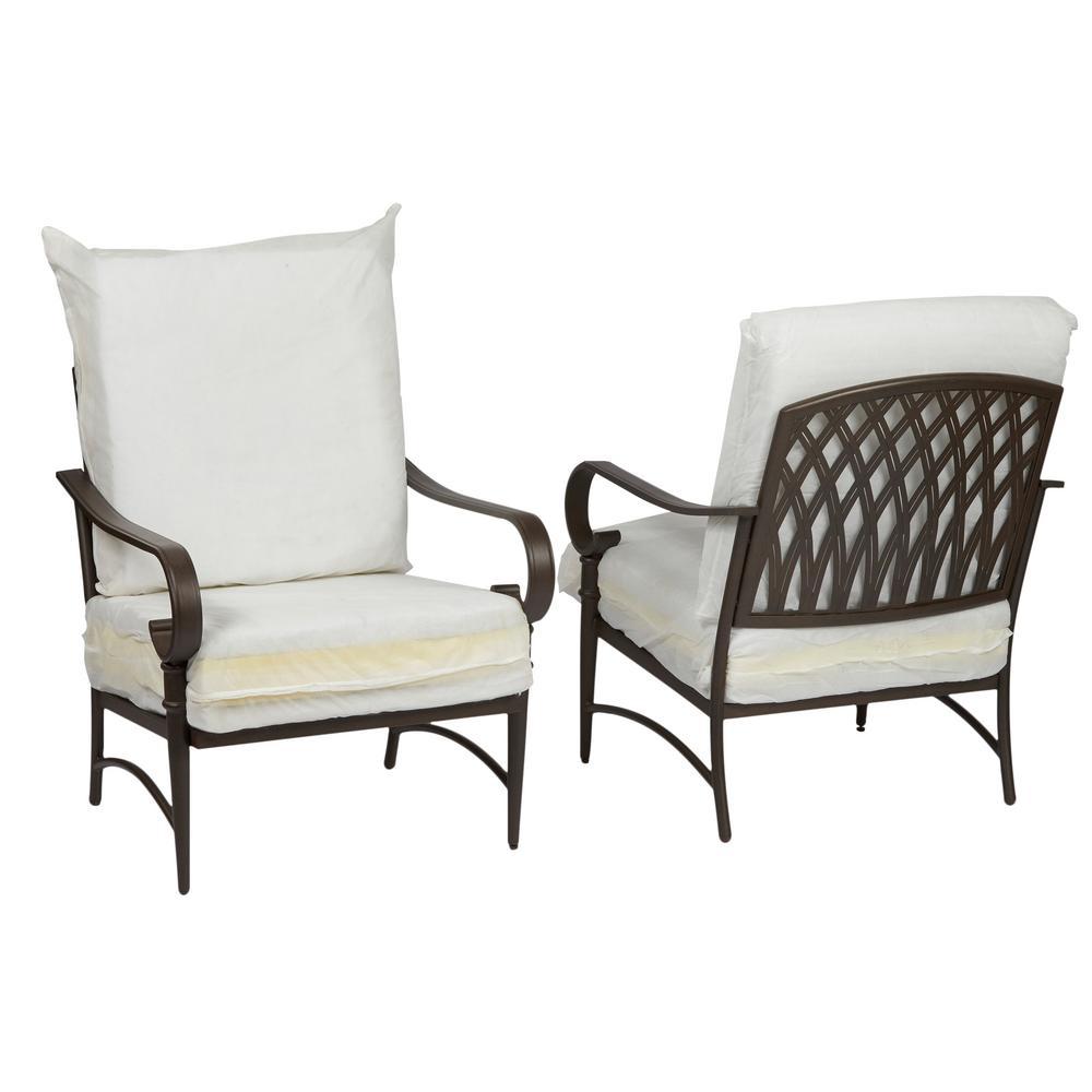 Oak Cliff Custom Metal Outdoor Lounge Chair (2-Pack)