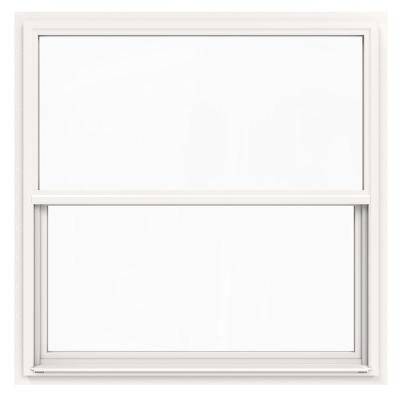 Silver Line Building Products 48 In X 36 In 70 Single Hung Fin Storm Defense Vinyl Window White 3040727ls The Home Depot