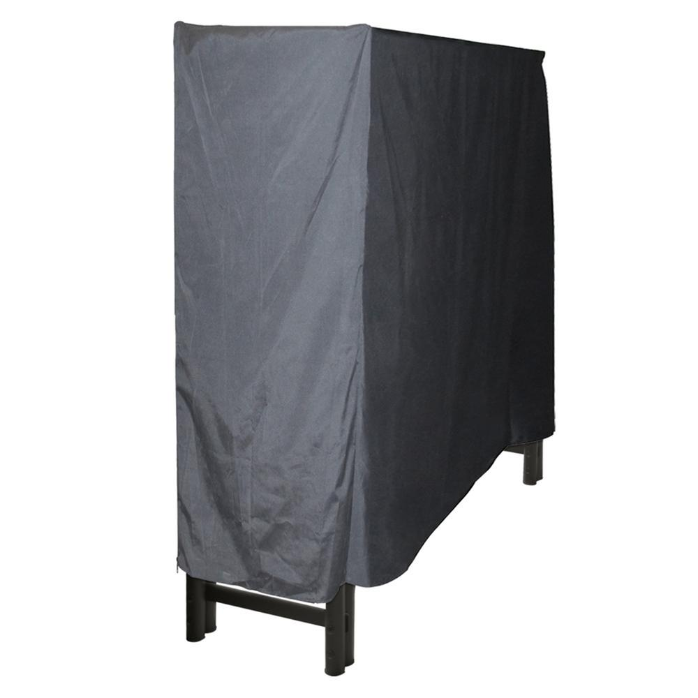 Pleasant Hearth 4 ft. Polyester Full-Length Firewood Rack Cover