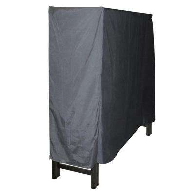 4 ft. Polyester Full-Length Firewood Rack Cover