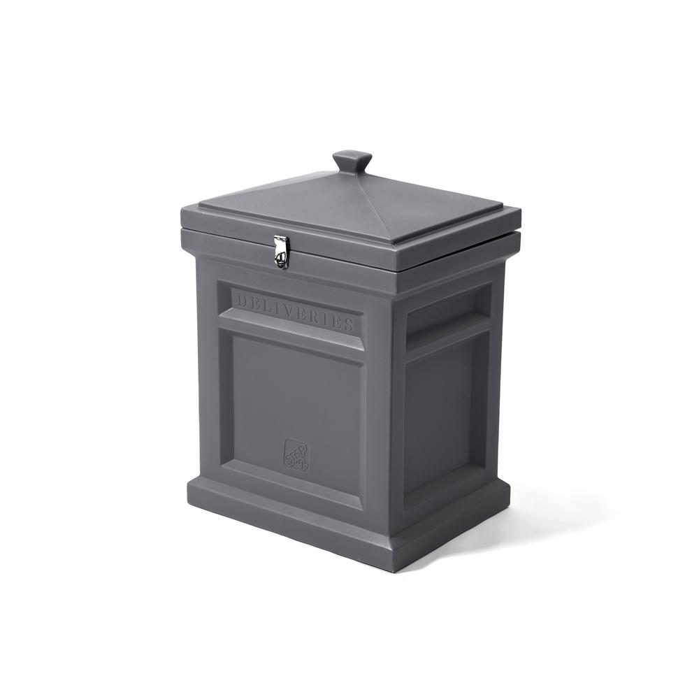 Step2 Manor Gray Deluxe Package Delivery Box