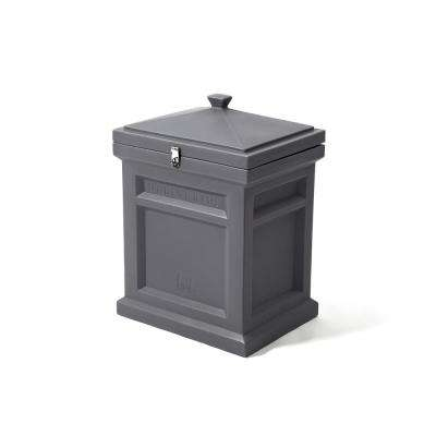 Manor Gray Deluxe Package Delivery Box