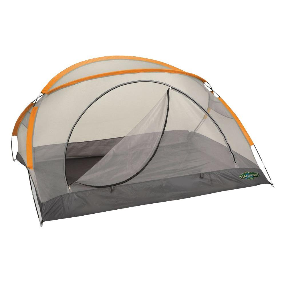 StanSport Star-Lite 90 in. x 66 in. x 44 in. Back Pack Tent with Fly