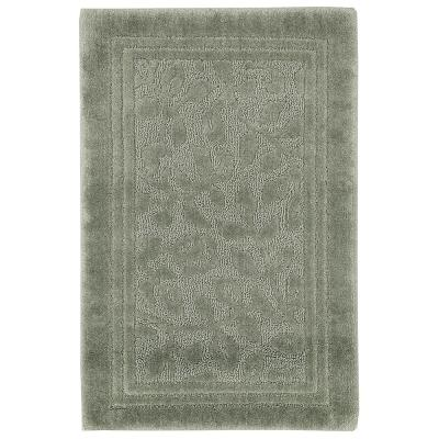 Wellington 30 in. x 50 in. Nylon Bath Rug in Sage Green