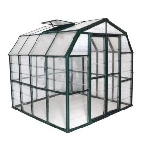 Rion Grand Gardener Clear 8 ft. x 8 ft. Greenhouse by Rion