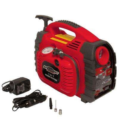 7-in-1 Powerstation Emergency Inflator with Battery Starter and Flashlight