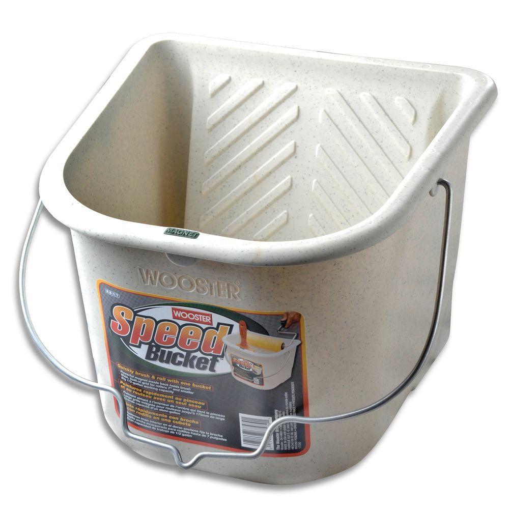 Wooster 1/2 gal. Polypropylene Speed Bucket