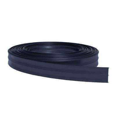 5 in. x 330 ft. Black Flexible Rail Horse Fence