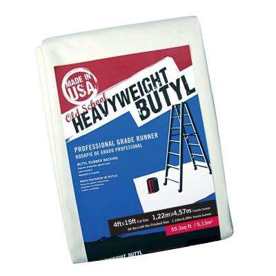 4 ft. x 15 ft. Butyl Drop Cloth