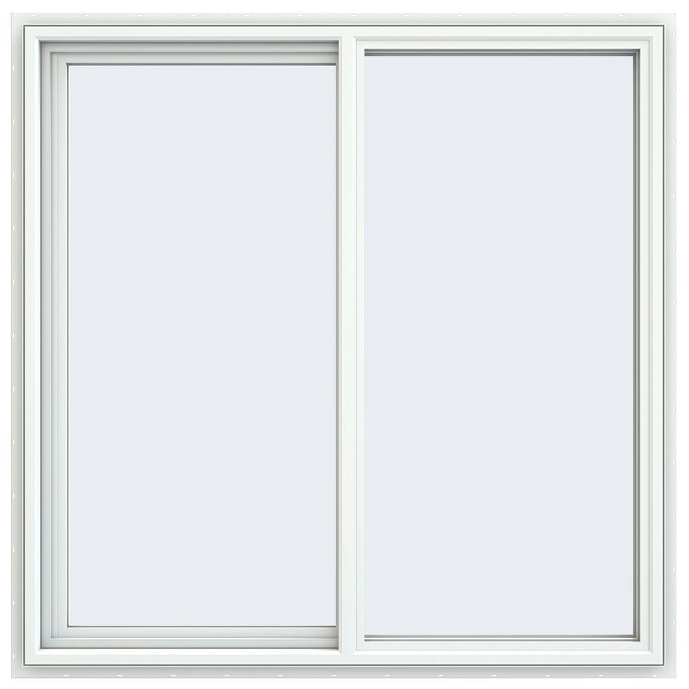 Jeld Wen 47 5 In X 47 5 In V 4500 Series White Vinyl