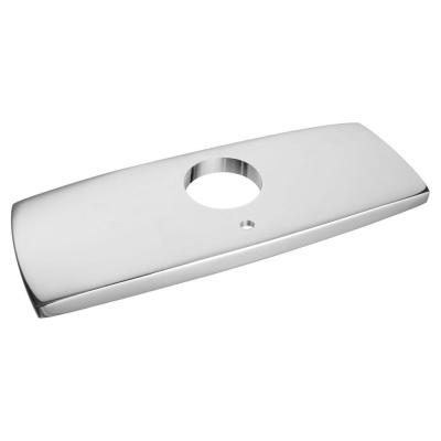 Paradigm Selectronic 4 in. Metal Deck Plate in Polished Chrome