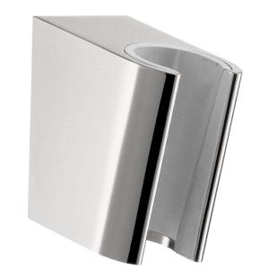 Good Hansgrohe Porter S Hand Shower Holder In Chrome 28331000   The Home Depot