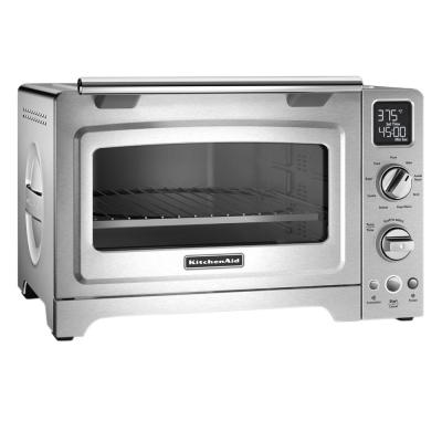 KitchenAid-2000 W 4-Slice Stainless Steel Convection Toaster Oven