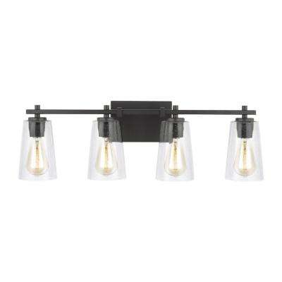 Mercer 4-Light Oil Rubbed Bronze Bath Light