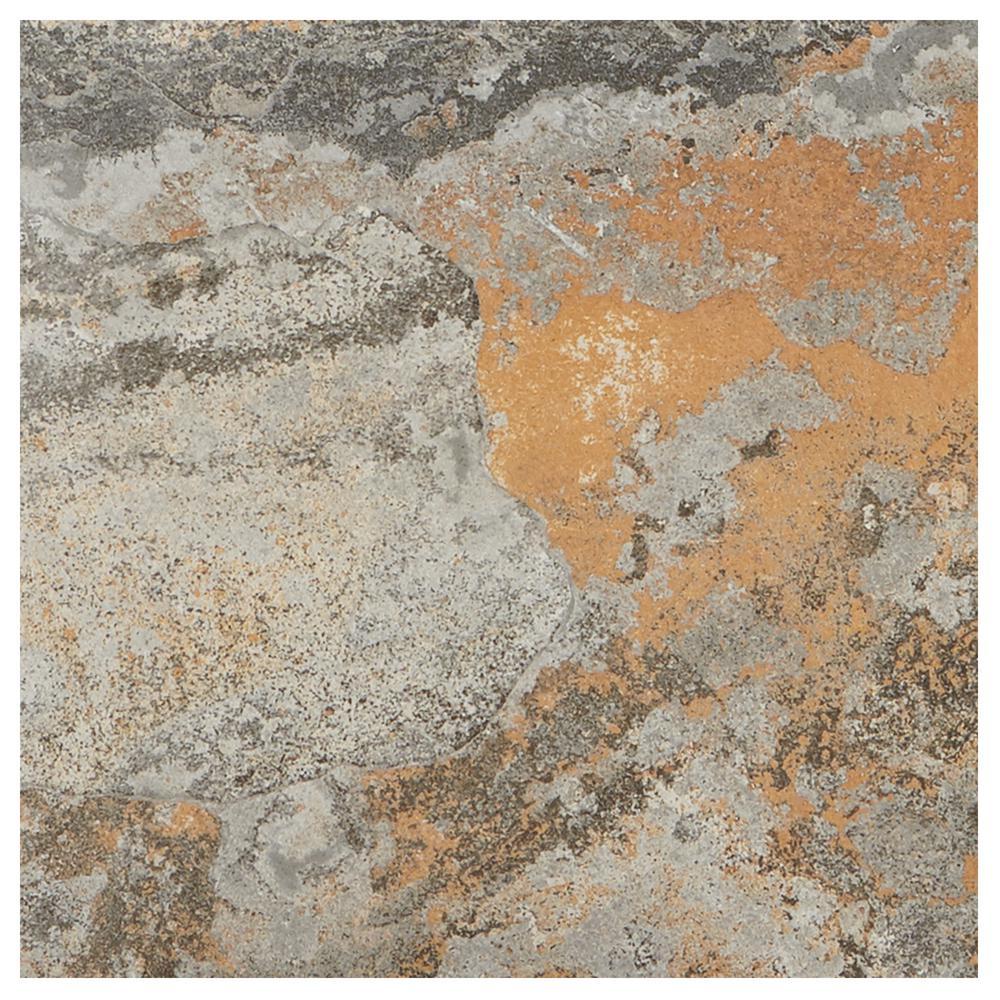 VitaElegante Ardesia 12 in. x 12 in. Porcelain Floor and Wall Tile (14.55 sq. ft. / case)