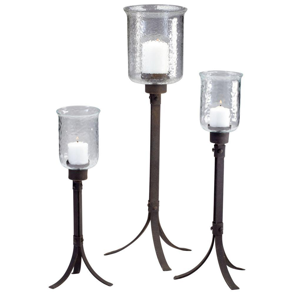 Filament Design Prospect 27.8 in. Rustic Candle Holder