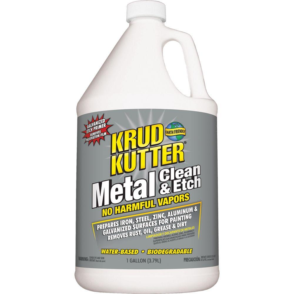 Krud Kutter 1 Gal Metal Clean And Etch Me014 The Home Depot
