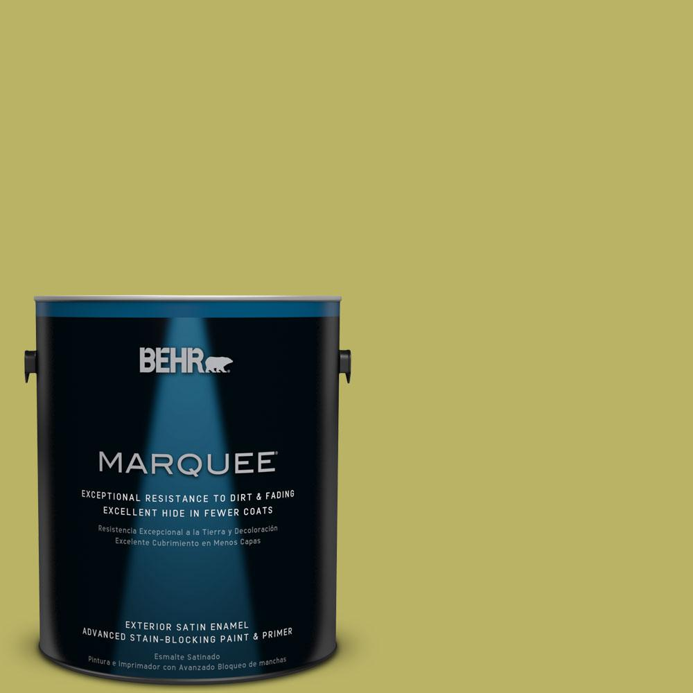 BEHR MARQUEE 1-gal. #PPU9-6 Riesling Grape Satin Enamel Exterior Paint