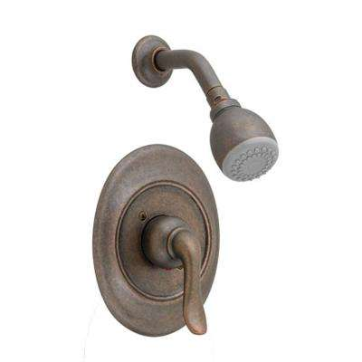 Princeton Pressure Balance 1-Handle Shower Faucet Trim Kit in Oil Rubbed Bronze (Valve Sold Separately)