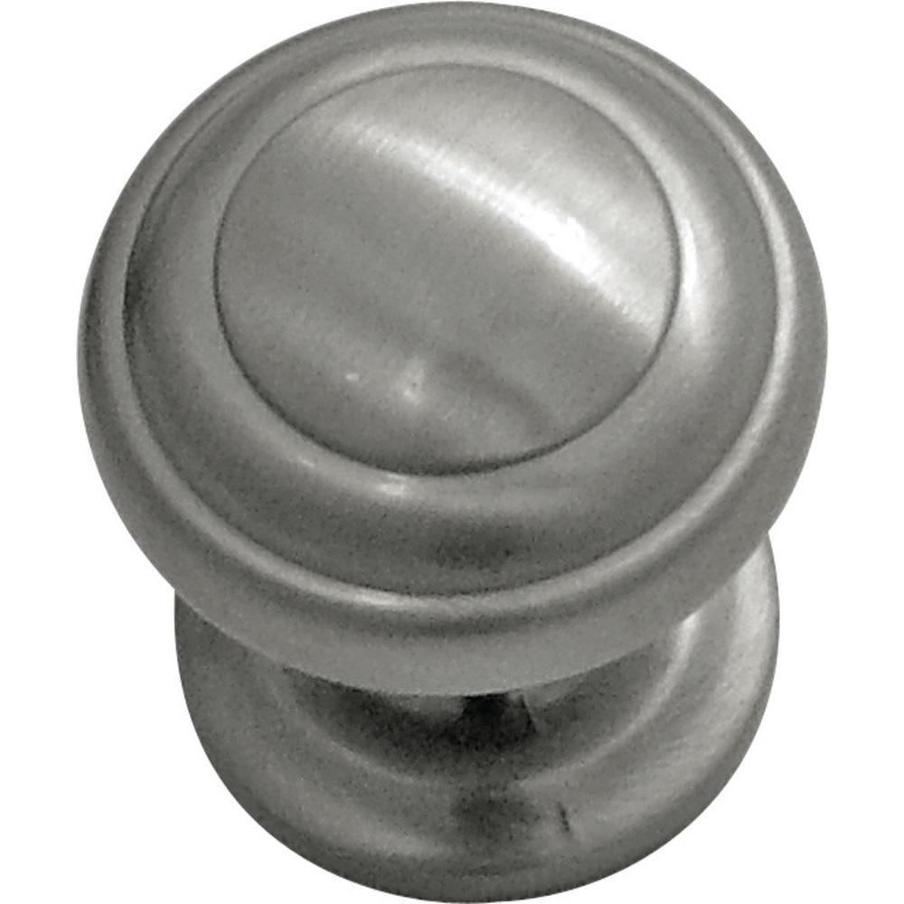 Hickory Hardware Zephyr 1 in. Satin Nickel Cabinet Knob