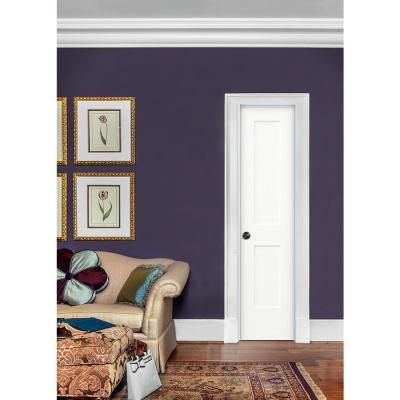 20 in. x 80 in. Monroe Primed Right-Hand Smooth Solid Core Molded Composite MDF Single Prehung Interior Door