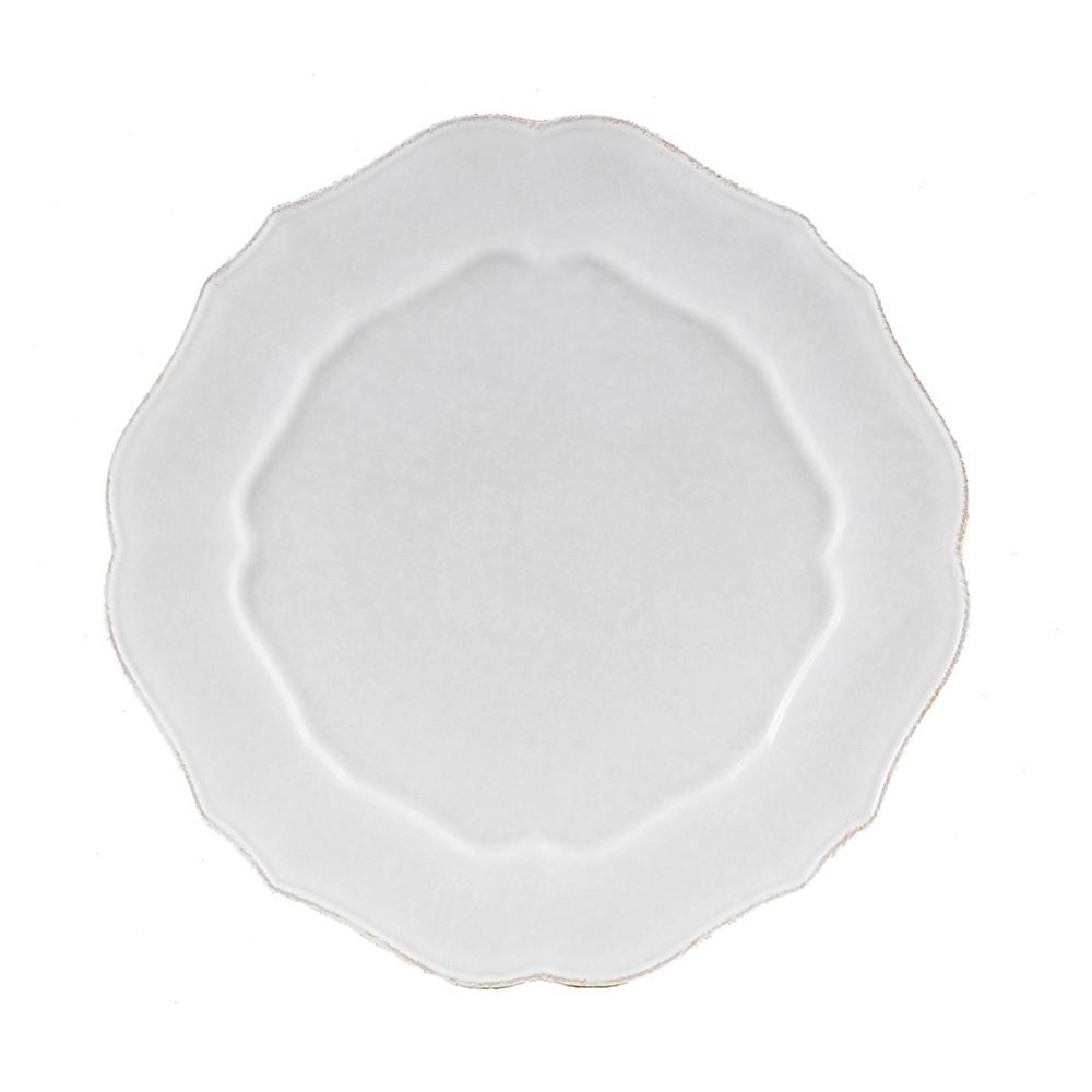 Impressions White Charger Plate