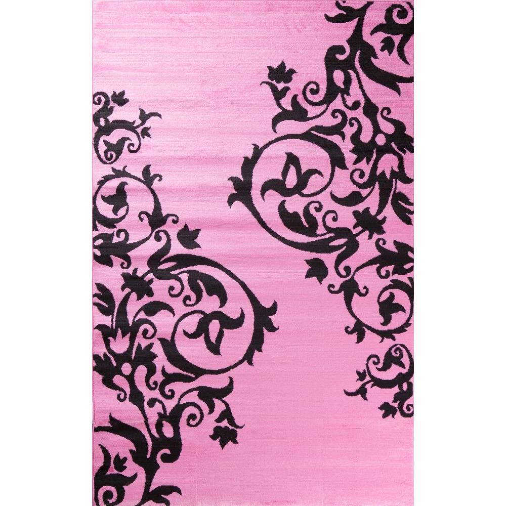 Alisa Tatoo Pink 3 ft. x 4 ft. Area Rug