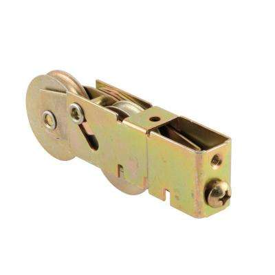 1-1/2 in. Stainless Steel Sliding Door Tandem Roller Assembly 3/4 in. x 1-1/8 in. Housing