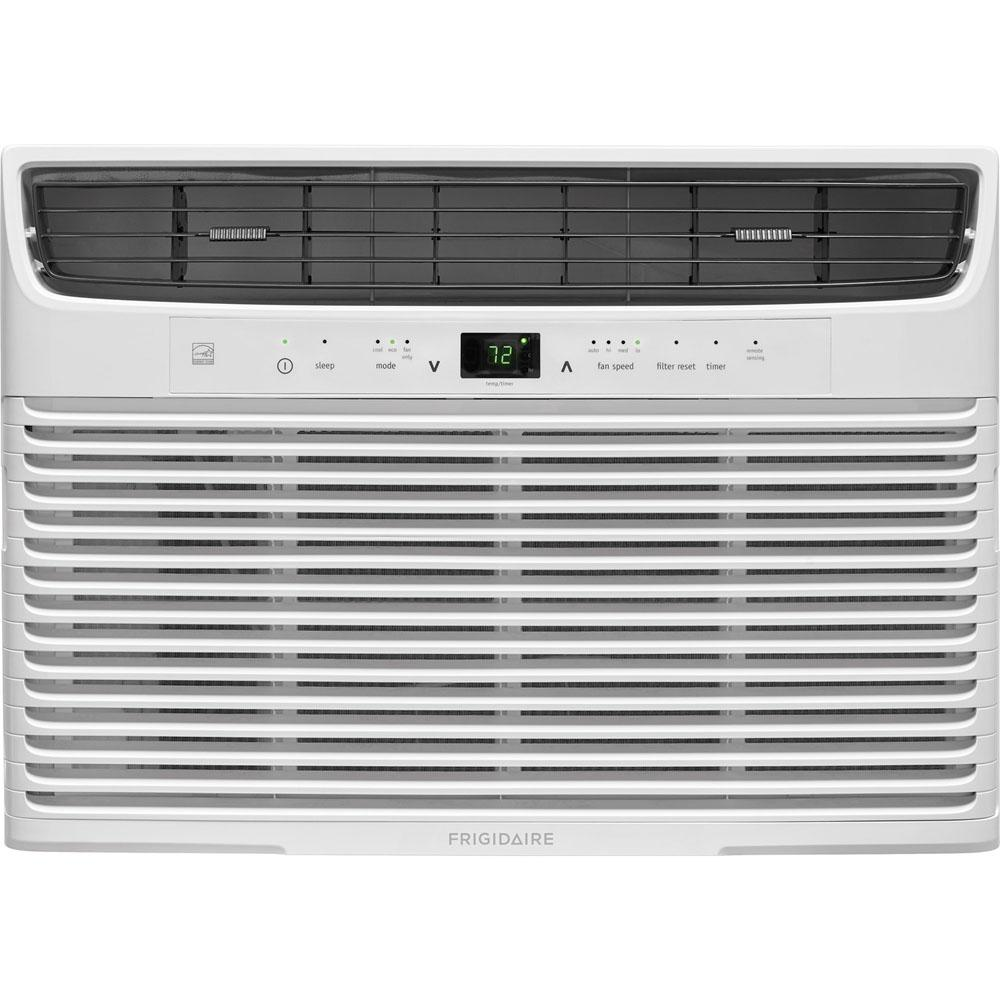 10,000 BTU 115-Volt Window-Mounted Compact Air Conditioner with Temperature