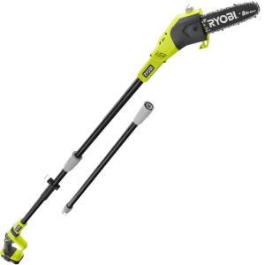Ryobi Reconditioned ONE+ 8 inch 18-Volt Lithium-Ion Cordless Pole Saw - 1.3 Ah Battery and Charger Included by Ryobi